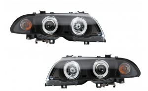 Set 2 faruri compatibil cu BMW E46