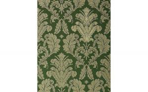 Tapet verde stil baroc 752-38