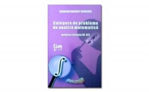 Culegere de probleme de analiza matematica pentru clasele XI-XII, autor Gheorghe Adalbert Schneider