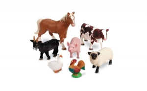Animalele de la ferma - Set figurine mari, +2 ani