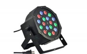Proiector cu joc de lumini club, LED 18W, efecte disco