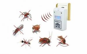 Set 2 aparate cu ultrasunete si unde electromagnetice impotriva soarecilor, rozatoarelor si insectelor taratoare