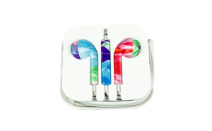 Casti Audio cu Microfon In-ear, Multicolore 7