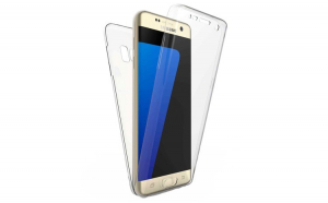 Husa Samsung S7 Edge Flippy Full Tpu 360 Transparent