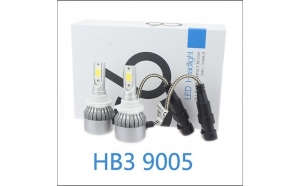 Kit becuri led auto c6 - HB3 / 9005