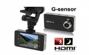 Camera auto K6000 FULL HD, Unghi Capturare Larg, Model Compact , la doar 189 RON de la 410 RON