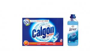 Calgon Powerball 30 b. & Lenor Spring 1L, Produse de curatare