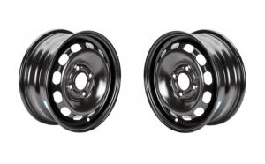 Set 2 Jante otel Ford Fusion 2002 2012 5.50Jx14   H2  4x108x63.3  ET 47.5