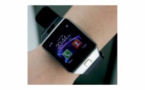 Ceas SmartWatch DZ09 Metalic - Telefon microSIM microSD camera