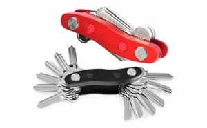 Spuneti stop cheilor dezorganizate! Acest lucru este posibil doar cu organizatorul compact pentru 12 chei cu design de breloc, la 29 RON de la 89 RON