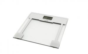 Cantar electronic de persoane Home, 150 kg, sticla, transparent, la doar 50 RON in loc de 100 RON