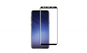 Folie Sticla Curbata Samsung Galaxy S9 Flippy Full Face Negru