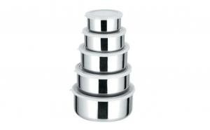 Set 5 caserole metalice