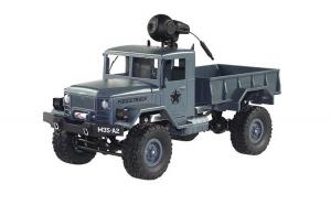 Masina Jjrc, M35 Military truck 1:16 2.4GHz RTR cu telecomanda, Albastru