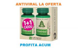 Antiviral 1+1 gratis 60+60cpr DACIA