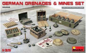 1:35 German Grenades