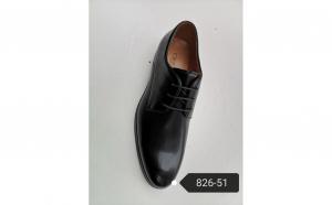 Pantofi eleganti barbati, Swbsa, Negru, piele naturala, 826-51
