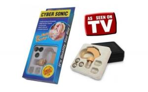 Aparat auditiv profesional Cyber Sonic, culoare bej, pozitie retroarticulara