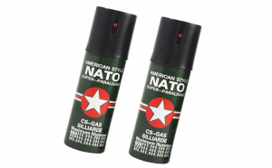 Set 2 spray-uri de autoaparare cu piper Nato