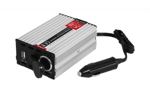 Invertor - Convertor Auto de la 24V la 12V 15A cu port USB, Transformator Curent BLW-58-621
