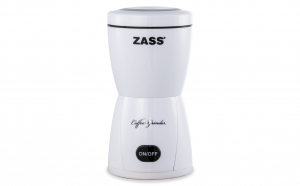 Rasnita de cafea Zass ZCG 05, 150W, 80g, Culoare Alb