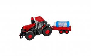 Tractor cu remorca cu baterii