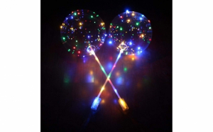 Set 3 x Balon party cu LED multicolor - Decoratiuni artistice
