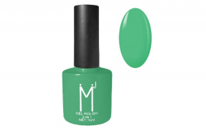 Oja semipermanenta 3 in 1, MJ Gel Polish, Nuanta 086 Fresh Green, 10 ml