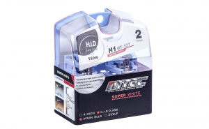 Set 2 becuri auto h1 24v 70w mtec super white - xenon effect
