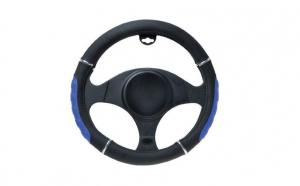 Husa volan negru+albastru 37-39 cm 6552, Automax