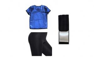 Set profesional Sauna (tricou+pantalon) + Cadou centura