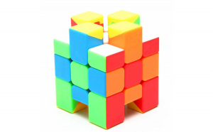 Cub Rubik  3x3x3 Asimetric  MoYu