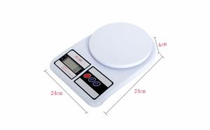 Cantar electronic de bucatarie cu afisaj digital, maxim 7 kg