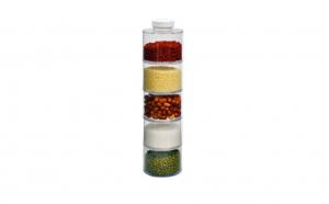 Carusel condimente cu 6 recipiente Spice