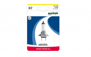 Bec Narva 12v 55w H7 range power+50% 48339