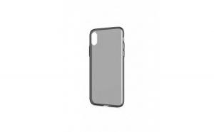 Husa protectie iPhone X, din silicon, transparenta
