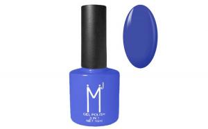 Oja semipermanenta 3 in 1, MJ Gel Polish, Nuanta 092 Indigo Bleu, 10 ml