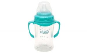 Biberon sticla U-grow, gat larg 120 ml