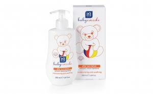 Lotiune After Sun actiune hidratanta si lenitiva Baby Coccole 200 ml