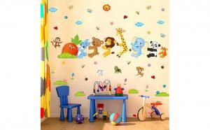 Autocolant perete camera copii Ridichea uriasa