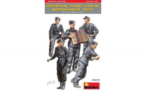 1:35 German Tank Crew ( Normandy 1944 )