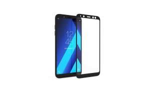 Folie Sticla Samsung Galaxy A6 2018 Flippy Full Face Negru