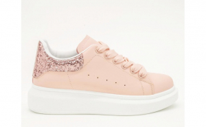 Pantofi casual-sport, dama, Nancy Collection, Pink Glitter