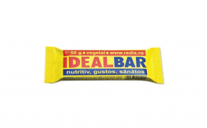 Set 12 batoane proteice Redis, Ideal Bar, 12 x 50g