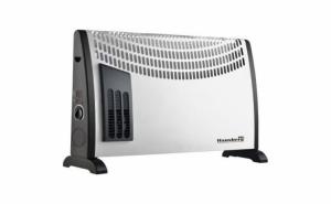 Convector electric 2000 W, 3 trepte de putere, termostat reglabil