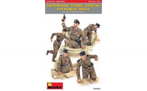 1:35 German Tank Crew (France 1944),