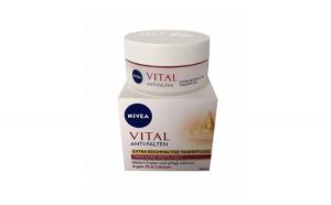 Nivea Vital, Crema antirid, 50 ml
