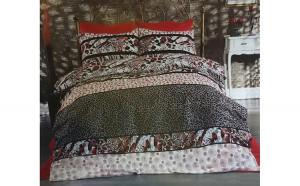 Lenjerie de pat matrimonial cu husa de