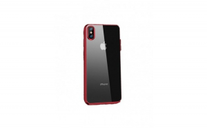 Husa protectie Iphone XS Max, ultra slim, din silicon, rosu
