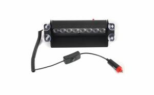 Lampa Stroboscop LED auto HB-803C, 6 moduri, rosu si albastru